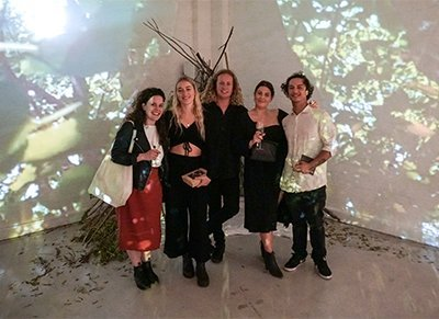 The Narrative - Lane Wood's installation with friends
